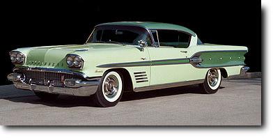 1958 Pontiac Bonneville Sport Coupe Home Page